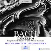 Bach: Concertos / Trevor Pinnock, The English Concert