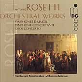 Rosetti: Orchestral Works Vol 1/ Johannes Moesus, Hamburg SO