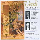 Verdi: Falstaff, etc / De Sabata, Serafin,Stabile, et al