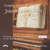 Krebs: Complete Organ Works Vol 5 / John Kitchen