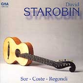 Romantic Guitar - Sor, Coste, Regondi / David Starobin