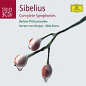 Trio - Sibelius: Complete Symphonies / Karajan, Kamu, et al