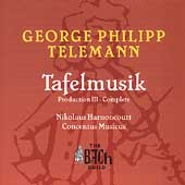 The Bach Guild - Telemann: Tafelmusik / Harnoncourt, et al