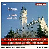 R. Strauss: A Capella Choral Works / Parkman, Danish NRC