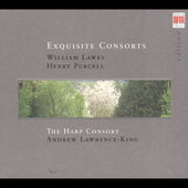 Exquisite Consorts - Lawes, Purcell / The Harp Consort