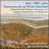 Chamber Music at the Imperial Court in Vienna - works by Schmelzer & Richter / Consrotium Musicum Passau