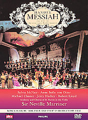 Handel: Messiah / McNair, Otter, Marriner/Academy Of St. Martin-In-The-Fields [DVD]