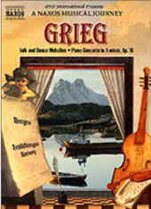 A Musical Journey - Grieg: Piano Concerto, Folk & Dance Melodies [DVD]