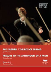 Stravinsky: Firebird, Rite of Spring; Debussy: Prelude to the Afternoon of a Faun / Orchestre de Paris, Jarvi [DVD]
