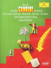 Bernstein: Candide / Jerry Hadley, June Anderson, Christa Ludwig, Adolph Green Nicolai Gedda, Della Jones, Kurt Ollmann. Bernstein, London SO [DVD]