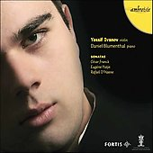 Franck: Violin Sonata;  Ysaye / Ivanov, Blumenthal