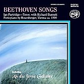 Beethoven: Songs / Ian Partridge, Richard Burnett