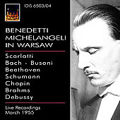 Benedetti Michelangeli in Warsaw / Rowicki, Warsaw PO