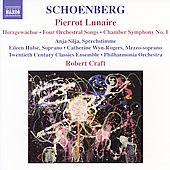 Schoenberg: Pierrot Lunaire, etc / Craft, Wyn-Rogers, et al