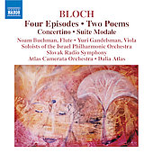 Bloch: Four Episodes, Suite Modale, etc / Gandelsman, et al