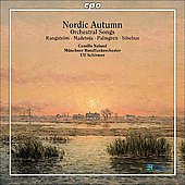 Nordic Autumn - Sibelius, Palmgren, Madetoja, etc: Orchestral Songs / Schirmer, Nylund, Munich RSO