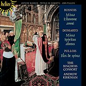 Busnois, Domarto: Masses, Motets / Kirkman, Binchois Consort