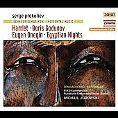 Prokofiev: Incidental Music - Hamlet, Boris Godunov, Eugene Onegin, Egyptian Nights / Jurowski, et al