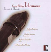 Telemann: Essercizii musici P 47 / Bagliano, Astronio, Guglielmo, Collegium Pro Musica