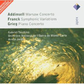Addinsell: Warsaw Concerto; Franck: Symphonic Variations; Grieg: Piano Concerto