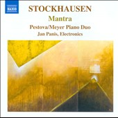 Stockhausen: Mantra  Pestova-Meyer Piano Trio