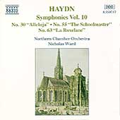 Haydn: Symphonies nos 30, 55 & 63 / Ward, Northern CO
