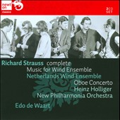 Strauss: Music for Wind Ensemble / De Waart