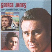 George Jones: George Jones (We Can Make It)/I Wanta Sing