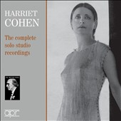 Harriet Cohen - The Complete Solo Stufio Recordings