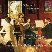 Schubert: Piano Trios 1 & 2 / Beths, Bylsma, Immerseel