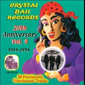 Various Artists: CRYSTALBALLRECORDS20THANNIVERSARYVOL419781998