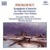 Prokofiev: Symphony-Concerto for Cello, etc / Rudin, Kuchar