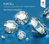 Purcell: Twelve Sonatas of Three Parts / The King's Consort