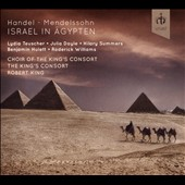 Handel: Israel in Egypt, oratorio / The King's Consort Choir and Orchestra, Robert King