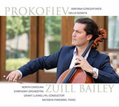 Sergei Prokofiev (1891-1953): Symphony-Concerto / Zuill Bailey, cello; Natasha Paremski, piano; North Carolina SO, Grant Llewellyn