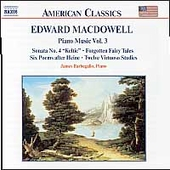 American Classics - MacDowell: Piano Music Vol 3 /Barbagallo