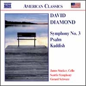 American Classics - Diamond: Symphony no 3, etc / Schwartz  , Starker, Seattle SO