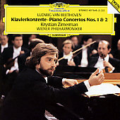 Beethoven: Piano Concertos no 1 & 2 / Zimerman, Vienna Phil