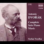 Dvor&aacute;k: Complete Solo Piano Music / Stefan Veselka