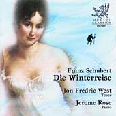 Scubert: Die Winterreise / Jon Frederic West, Jerome Rose