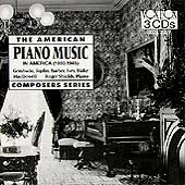 Piano Music in America, 1900-1945 / Works by Antheil, Barber, Carpenter, Copland, Cowell / Roger Shields, piano