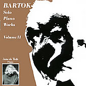 Bartok: Solo Piano Works, Vol. 2