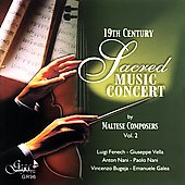 19th Century Sacred Concert Music Vol 2 / Rev. John Galea