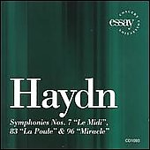 Haydn: Symphonies no 7, 83, 96 / Kapp, Philharmonia Virtuosi