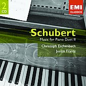 Schubert: Music For Piano Duet Vol 2 / Eschenbach, Frantz
