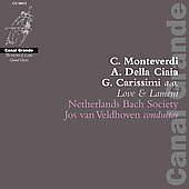 Love & Lament - Monteverdi, Carissimi, et al / Veldhoven