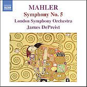 Mahler: Symphony no 5 / James DePreist, LSO