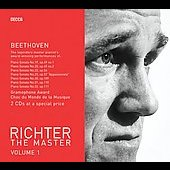 Richter The Master Volume 1 - Beethoven