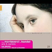 Baroque Voices - From Monteverdi to Handel - Arie & Cantate / Mingardo, Alessandrini, Concerto Italiano, et al