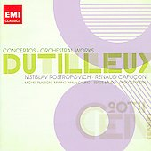 EMI 20th Century Classics - Dutilleux: Concerti, Orchestral Works / Rostropovich, Capu&ccedil;on, Plasson, et al